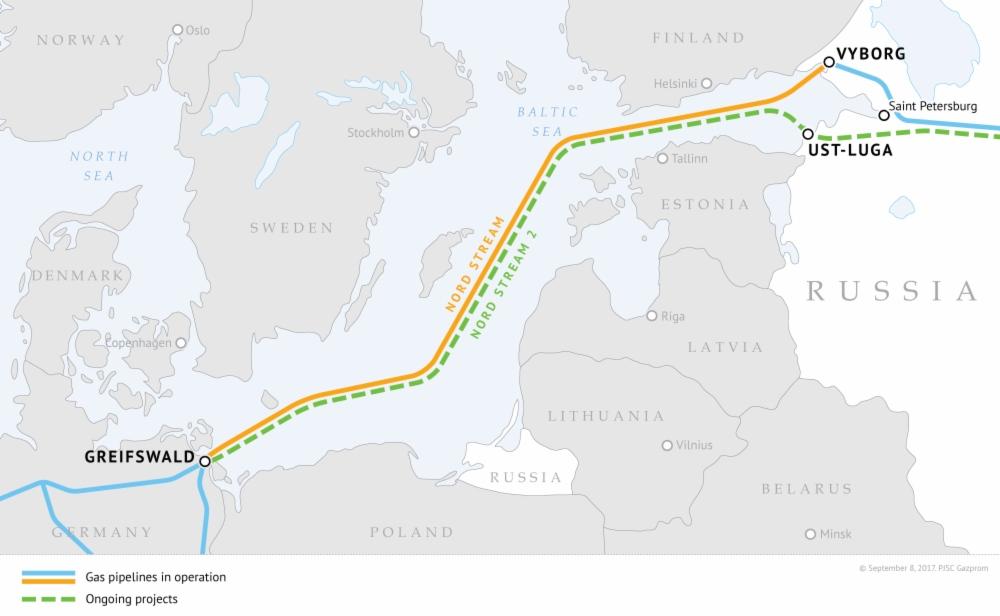 """Germania se plânge că SUA blochează gazoductul Nord Stream 2, prin care urma să primească gaze de la Gazprom. Avertizează cu un răspuns """"pe măsură"""""""
