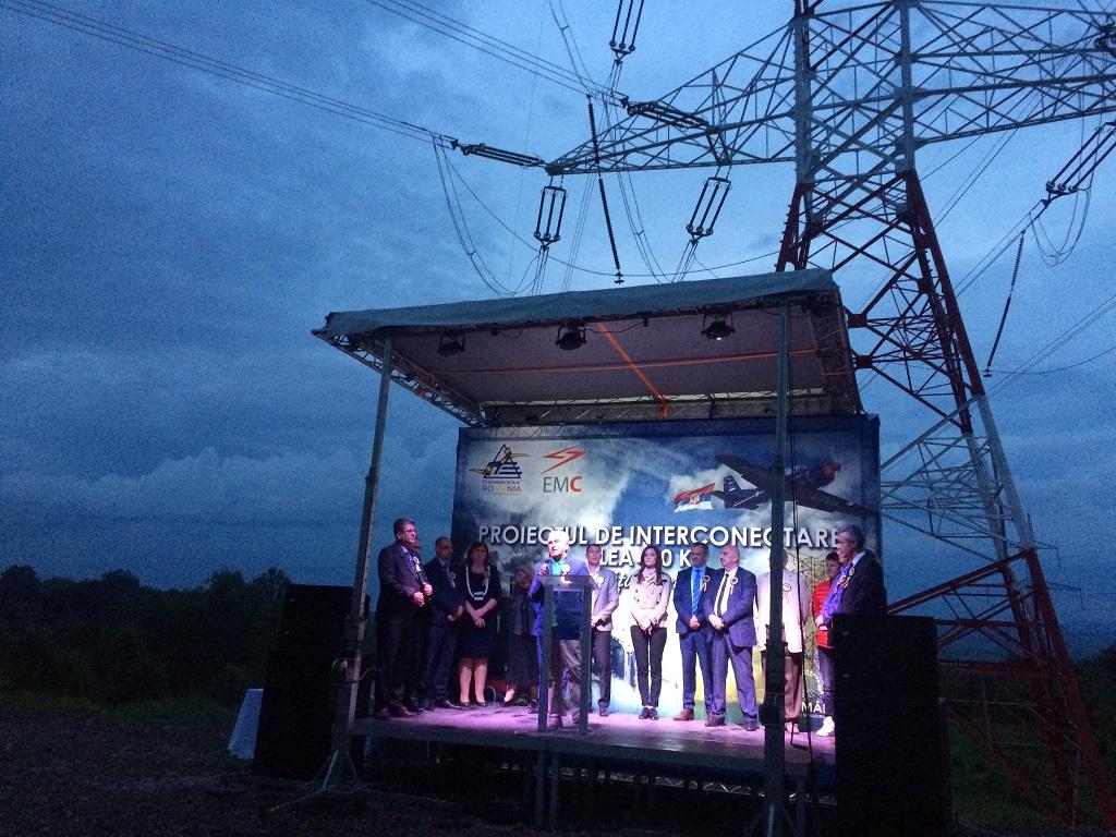 Transelectrica a inaugurat linia electrică aeriană de 400 kV de interconexiune între Reşiţa şi Pancevo (Serbia), investiţie de peste 80 milioane lei