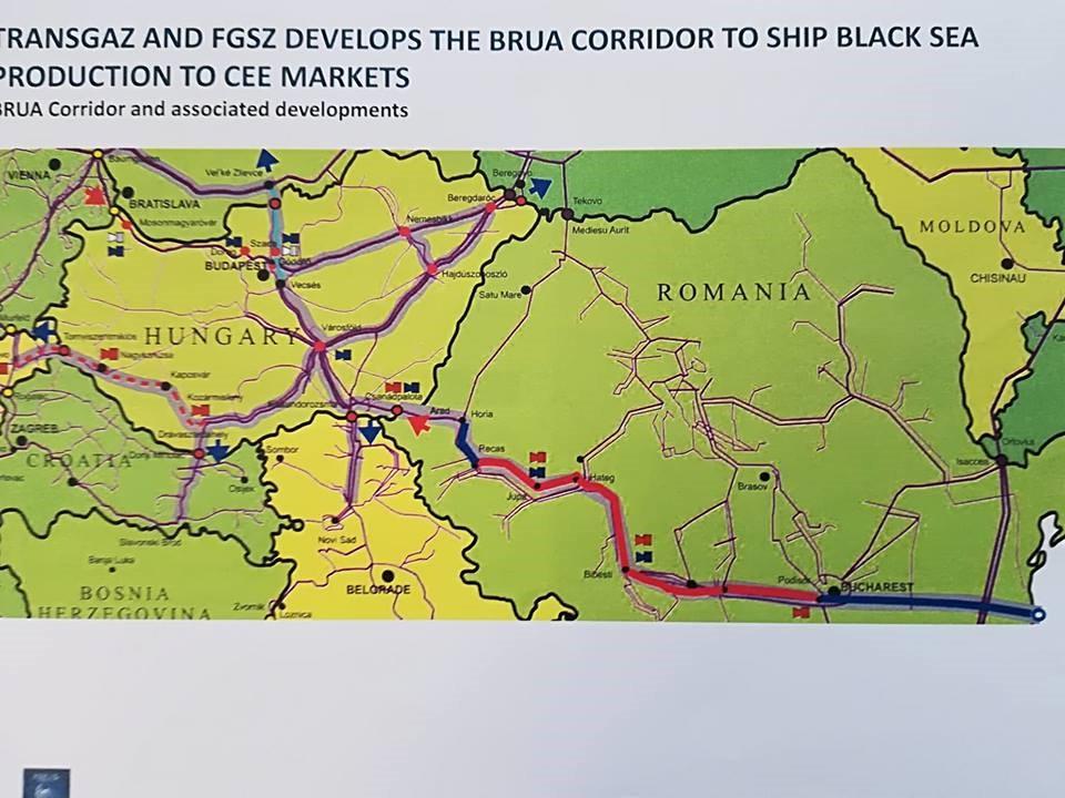 Ungurii explică de ce au oprit BRUA în Ungaria: există deja infrastructură spre Vest, iar gazul românesc va fi mai ieftin cu un miliard de dolari
