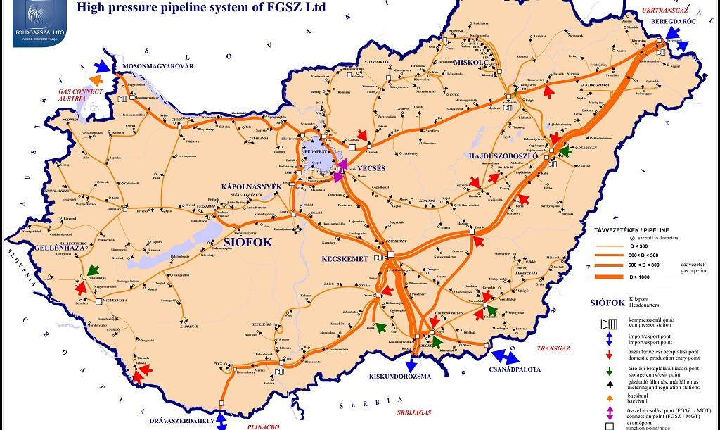România, al patrulea producător de gaze din Europa, importă gaze din Ungaria, ţară care nu produce gaze