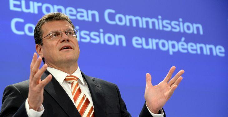 Înainte de votul pe legea offshore, vitală pentru gazele din Marea Neagră, vicepreşedintele Comisiei Europene a venit la Bucureşti