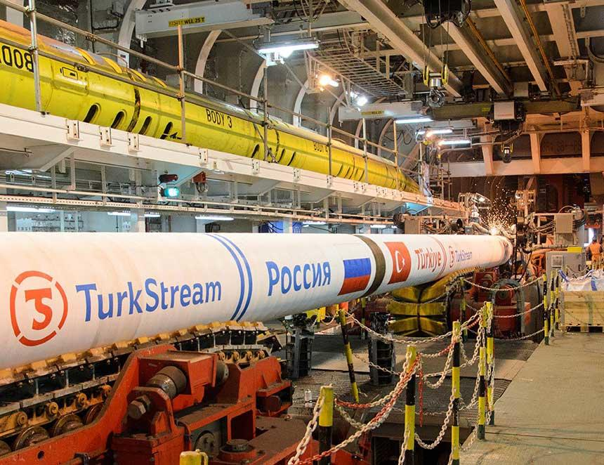 Gazprom vrea să prelungească gazoductul TurkStream prin Bulgaria, Serbia, Ungaria şi Slovacia