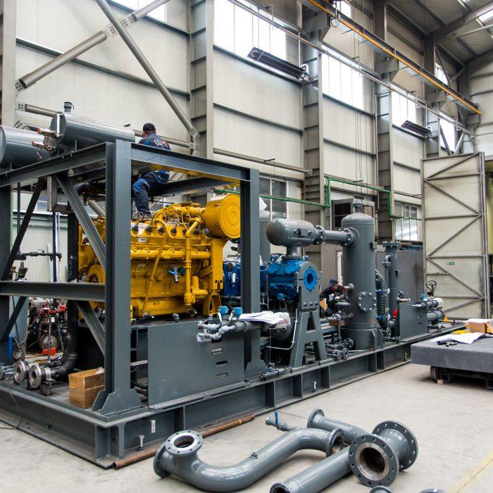 O companie din Mureş va construi prima staţie de comprimare a gazelor în Croaţia