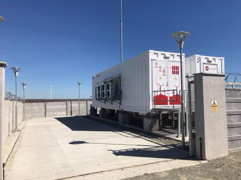Portughezii de la EDP au inaugurat prima staţie de stocare a energiei electrice din România