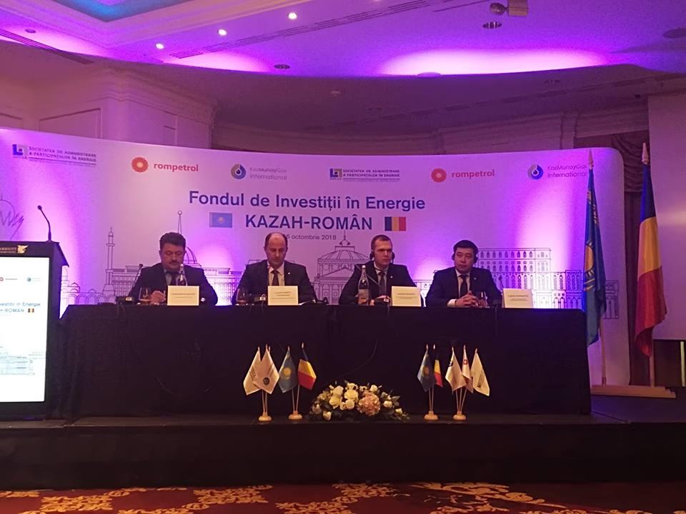 S-a înfiinţat fondul româno-kazah. Primele investiţii: o termocentrală nouă de 120 mil. dolari la Midia şi 80 de noi benzinării Rompetrol